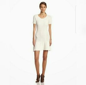 Sam Edelman cable knit dress size small